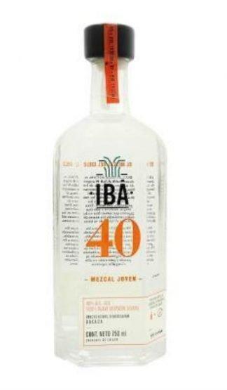 Mezcal IBA 40. mezcal orgánico. mezcal oaxaca