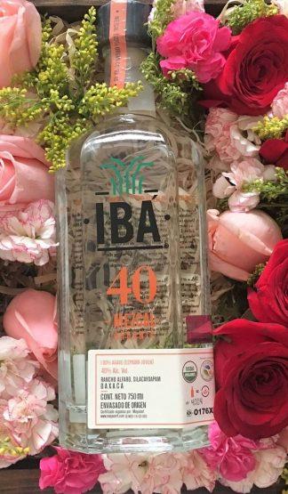 Mezcal IBA 40 Orgánico y Rosas Día de la Madre