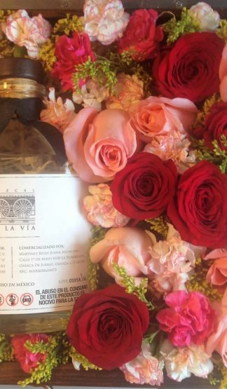 Mezcal Estación Matatlan-La Vía y Rosas Día de la Madre