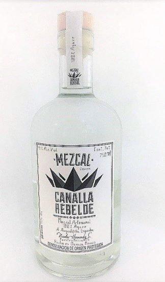 mezcal canalla rebelde espadin,mezcal artesanal,mezcal de oaxaca,agave espadin