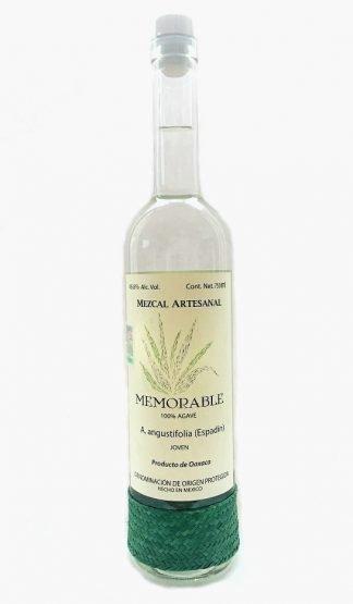 mezcal memorable espadin oaxaca liquor