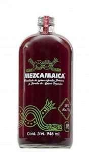 mezcamaica cocktail de mezcal y jamaica, las mezcas, bebidas preparadas con mezcal, mixologia con mezcal, mezcalito, mezcarindo