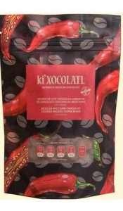 chocolate ki xocolatl, granos de café cubiertos de chocolate y especias, cacao criollo, chocolate mexicano