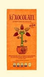ki xocolatl tortilla de maíz, cacao criollo,chocolate mexicano, ki xocolatl naranja