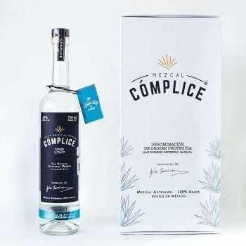 kit mezcal complice espadin, caja mezcal complice
