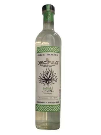 Mezcal El Discípulo Jabalí 750 ml, agave jabali, agave silvestre, mezcal de oaxaca, mezcal joven, mezcal artesanal